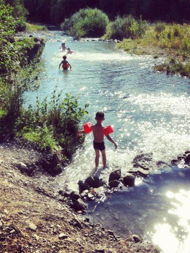Les baignades en rivière en Drôme Provençale