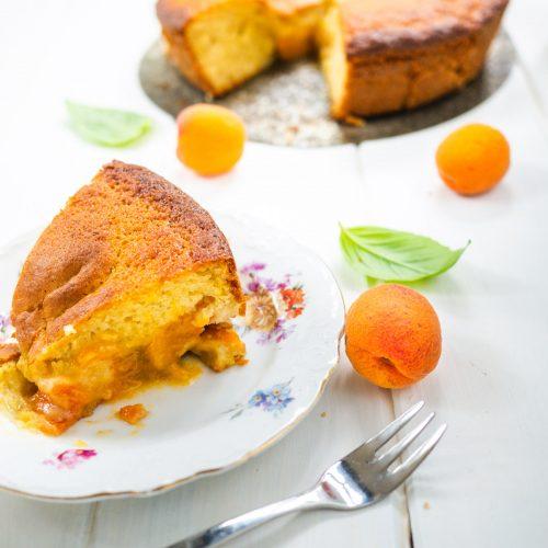 Gâteau yaourt à l'abricot