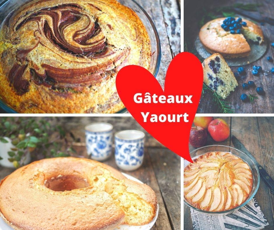 Variez vos recettes de gâteau yaourt