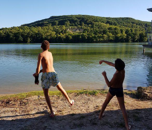 Le lac de Brive la Gaillarde